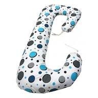 Deseda - Perna de gravide si alaptare cu husa detasabila Deluxe Cerculete