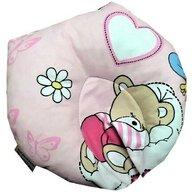 Deseda - Perna pt formarea capului bebelusului Deluxe - ursi cu albine pe roz