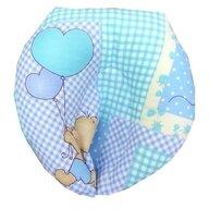 Deseda - Perna pt formarea capului bebelusului Deluxe - ursuleti pe albastru