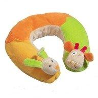 Brevi Soft Toys - Perna suport gat Iepuras, Girafa
