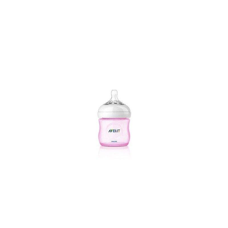 Philips Avent Biberon Natural 4 oz/125 ml roz din categoria Biberoane de la Philips Avent