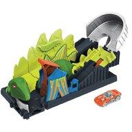 Hot Wheels - Pista de masini Toxic Dino coaster attack Cu masinuta by Mattel