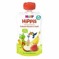 HiPP - Piure Hippis din mar, capsuni, banana, 100 gr