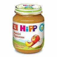 HiPP - Piure de piersici, 125 gr