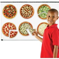 Learning Resources - Pizza fractiilor cu magneti