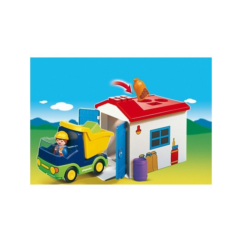 Playmobil Camion cu garaj