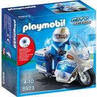 Playmobil - Motocicleta politiei cu led