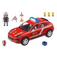 Playmobil - Set de constructie Macan de pompieri , Porsche