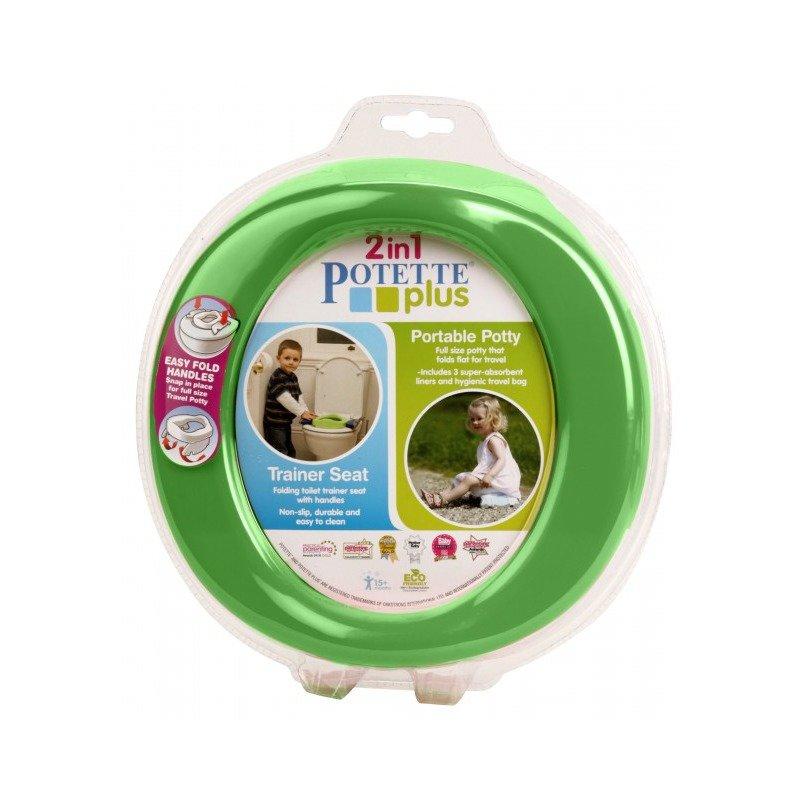Potette Plus Olita pliabila verde