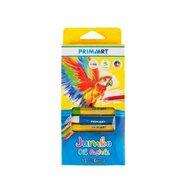 Prima Art - Creioane Jumbo Oil Pastels Pasteluri uleioase, 12 culori