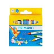 Prima Art - Set creioane Colorate 12 bucati, Cerate