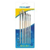 Prima Art - Accesoriu Set pensule Cu maner, 6 buc din Lemn
