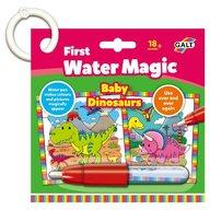 Galt - Pictura cu apa Prima mea carticica Water Magic - Micutii dinozauri