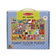 Melissa & Doug - Puzzle de podea Alfabetul Animalelor Puzzle Copii, pcs  35