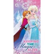 Star - Prosop de plaja Bumbac Frozen Keeping the Magic Alive 70*140 cm  ST50716
