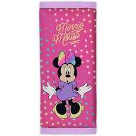 Seven - Protectie centura de siguranta Dotty Minnie Mouse, Roz