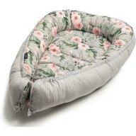Womar Zaffiro - Protectie somn cu 2 fete Baby Nest, Flowers