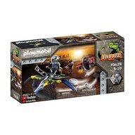 Playmobil - Set de constructie Pteranodon - Lupta dronei , Dino Rise