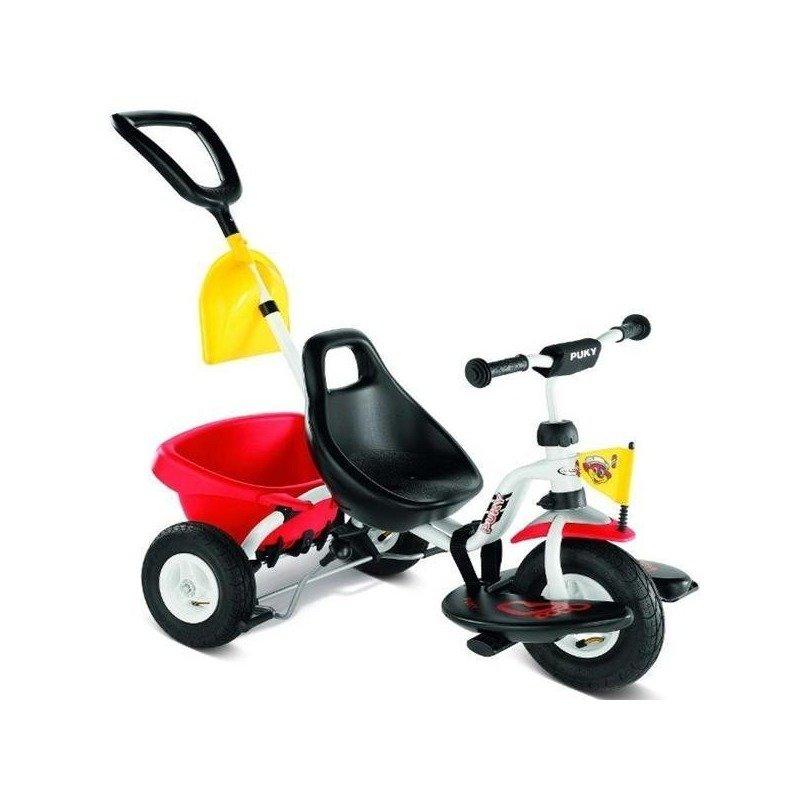 Puky Tricicleta cu maner CAT 1 SL alb din categoria Triciclete si Trotinete pentru copii de la Puky