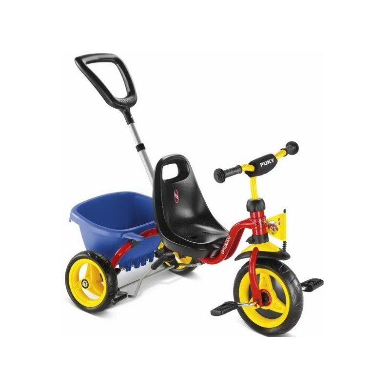Puky Tricicleta cu maner din categoria Triciclete si Trotinete pentru copii de la Puky