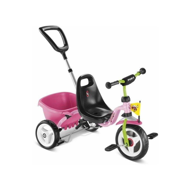 Puky Tricicleta cu maner roz din categoria Triciclete si Trotinete pentru copii de la Puky