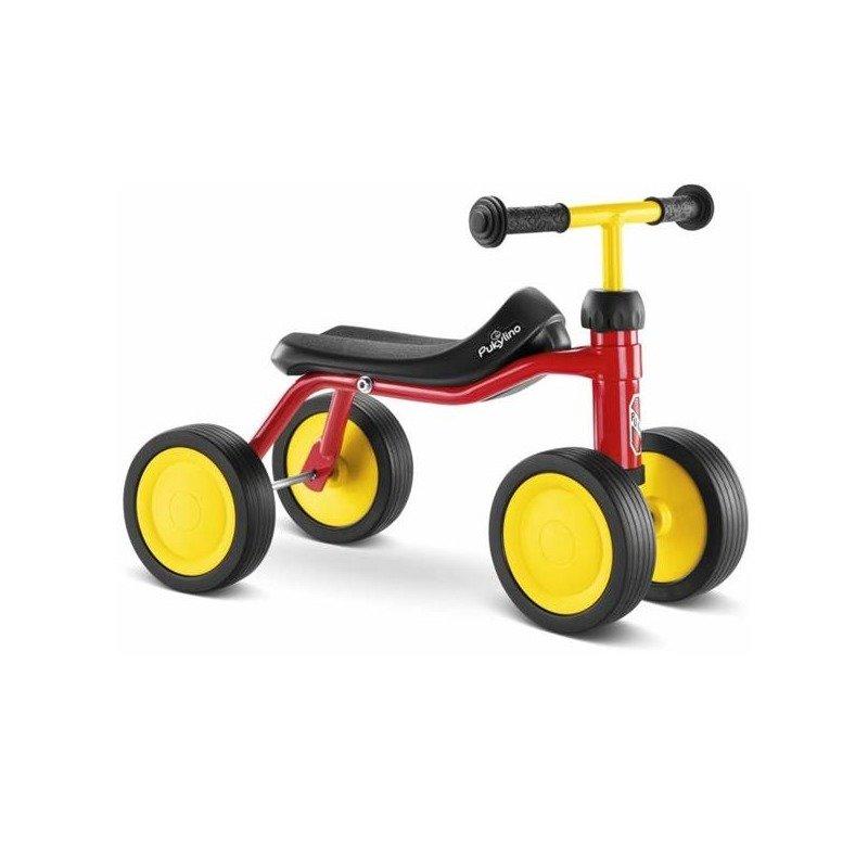 Puky Tricicleta fara pedale Pukylino rosie din categoria Triciclete si Trotinete pentru copii de la Puky