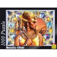 Puzzle 1000 piese cu efect metalic model Ramses