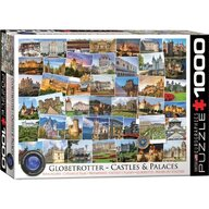 Puzzle 1000 piese Globetrotter Castles and Palaces
