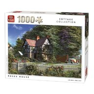Puzzle 1000 piese Roses House