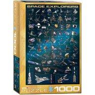 Puzzle 1000 piese Space Explorers