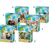 Puzzle 35 piese, Lumea animala