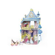 CUBICFUN - Puzzle 3D Castelul basmelor Puzzle Copii, piese 81