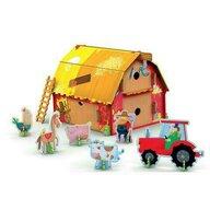 Sassi - Puzzle 3D Ferma vesela Puzzle Copii, pcs  43