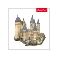 CUBICFUN - Puzzle 3D Harry Potter - Sala astronomie Puzzle Copii, piese 243