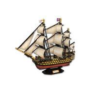 CUBICFUN - Puzzle 3D Nava HMS Victory Puzzle Copii, piese 189