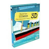 Sassi - Puzzle 3D Titanic Puzzle Copii, piese 60