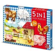 Puzzle 5 in 1, Ferma