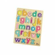 Jumini - Puzzle din lemn Alfabet Puzzle Copii, 26 piese