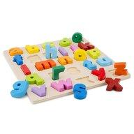 New Classic Toys - Puzzle Alfabet, Litere mici