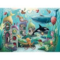 Ravensburger - Puzzle animale Subacvatice Puzzle Copii, piese 100