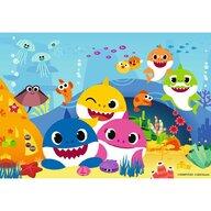 Ravensburger - Puzle personaje Baby shark Puzzle Copii, piese 24
