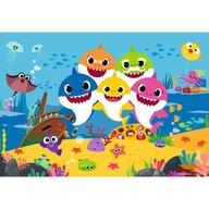 Ravensburger - Puzle personaje Baby shark Puzzle Copii, piese 48