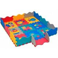 Globo - Covor puzzle 9 piese, Cu margini