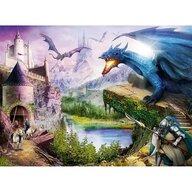 Ravensburger - Puzzle personaje Castel si dragoni Puzzle Copii, piese 200