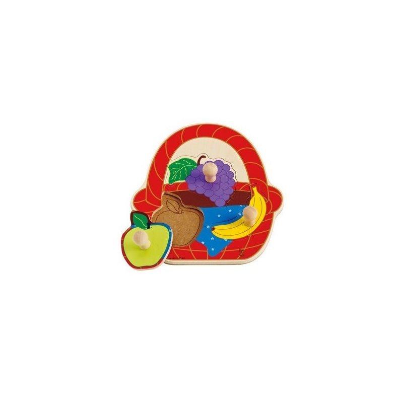 Puzzle – Cosul cu fructe HAPE din categoria Puzzle copii de la Hape