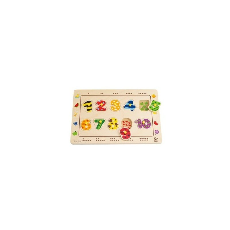 Puzzle cu numere ingropate HAPE din categoria Puzzle copii de la Hape