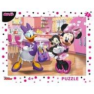 Dino - Toys - Puzzle cu rama Minnie 40 piese