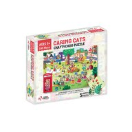 Chalk and Chuckles - Puzzle cu surprize Chatty Choo, 100 piese