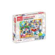Chalk and Chuckles - Puzzle cu surprize Lotothot, 100 piese