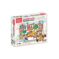 Chalk and Chuckles - Puzzle cu surprize Makermax, 100 piese